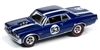 1964 Pontiac GTO in Metallic Dark Blue - Spoilers JOHNNY LIGHTNING STREET FREAKS