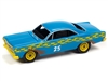 1967 Ford Fairlane (Demolition Derby) in Flat Medium Blue JOHNNY LIGHTNING