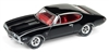 1968 Oldsmobile Cutlass W-31 Ram Rod 350-Gloss Black W/ Red Interior