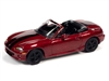1999 Mazda Miata in Candy Apple Red with Black Stripes (Import Heat) JOHNNY LIGHTNING HOBBY EXCLUSIVE