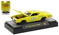 1971 Dodge Charger R/T HEMI Mellow Yellow - #12 M2 Coca-Cola
