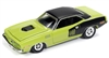 RACING CHAMPIONS 1971 Plymouth Barracuda in Curious Yellow RELEASE 3A