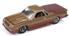 RACING CHAMPIONS 1986 Chevrolet El Camino in Gold & Brown RELEASE 3A