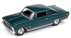 RACING CHAMPIONS 1966 Chevy Nova SS in Tropic Turquoise RELEASE 3B