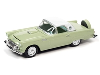 RACING CHAMPIONS 1956 Ford Thunderbird (Willow Mist with White Roof) RC012