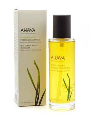 Ahava DeadSea Plants Precious Desert Oils Nourishing Body Treatment   3.4 fl oz