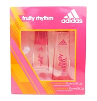 Adidas for women Fruity Rhythm Set: Eau de Toilette 2.5 Fl Oz. and 1 Fl Oz.