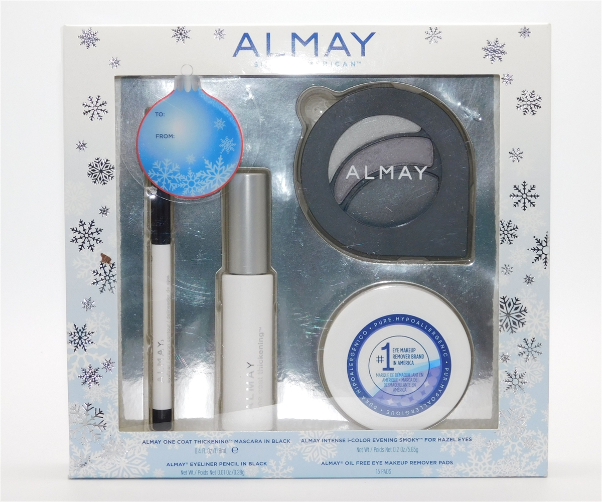 Almay Hazel Eyes Gift Set One Coat Thickening Mascara In Black I