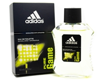 Adidas PURE GAME Eau de Toilette Spray  3.4 fl oz