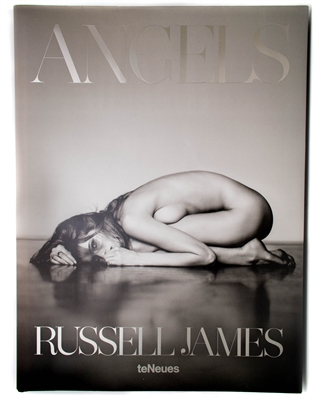 ANGELS by Russell James Photography Book featuring  Gisele Bundchen, Adriana Lima, Alessandra Ambrosio and others. 304 pages, 10.5 x 1.5 x 14.2 inches
