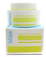 bliss GREEN TEA WONDER Clarifying Overnight Gel Mask  1.7 fl oz
