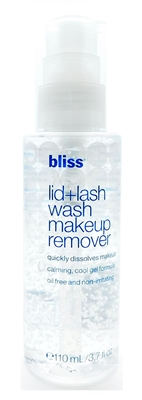 bliss Lid + Lash Wash Makeup Remover 3.7 Fl Oz.
