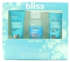 bliss Very Berry: Hand Cream 1 Fl oz., Soapy Suds 1 Fl Oz., Body Butter 1 Fl Oz.