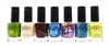Color Club Professional Nail Lacquer set of 7: Fly With Me, Nude, Slow Jam, Masquerading, It's A Hit!, Cold Metal, Get Your Lem-on (each .5 Fl Oz.)