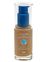 ​Covergirl Outlast Stay Fabulous 3-in-1 Foundation + Sunscreen SPF20, 860 Classic Tan   1 fl oz