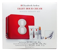 Elizabeth Arden Eight Hour Cream Winter Therapy Kit: Skin Protectant 1 Oz., Intensive Moisturizing Hand Treatment 1 Oz., Lip Protectant Stick SPF15 .13 Oz., Moisturizing Gloves