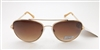 Oscar by Oscar de la Renta Sunglasses Mod-3041 718 Gold