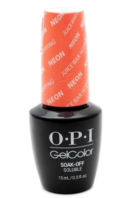 ​OPI Juice Bar Hopping Neon Gel Color, Soak-Off, For Professional Use Only  .5 fl oz