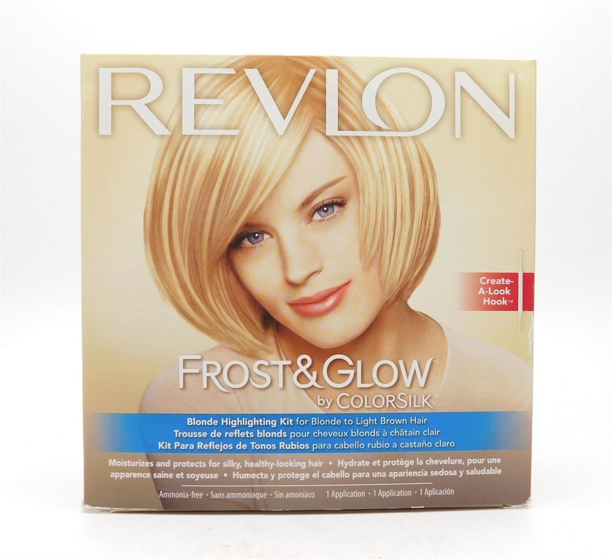 Revlon Frost Glow By Colorsilk Blonde Highlighting Kit For Blonde