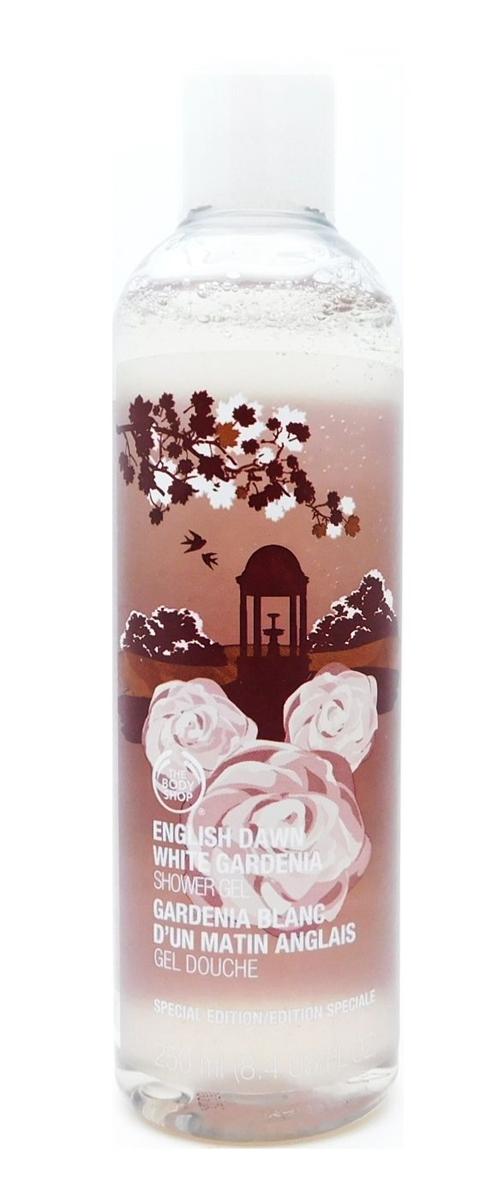 The Body Shop English Dawn White Gardenia Shower Gel 8 4 Fl Oz