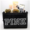 Victoria's Secret PINK Beach Life Set: Sunglasses, Sun Kissed Body Mist 2.5 Fl Oz., Luminous Body Bronzer 2.5 Fl Oz., Chill Out After Sun Soother 3.4 Fl Oz., Waterproof Disposable Camera