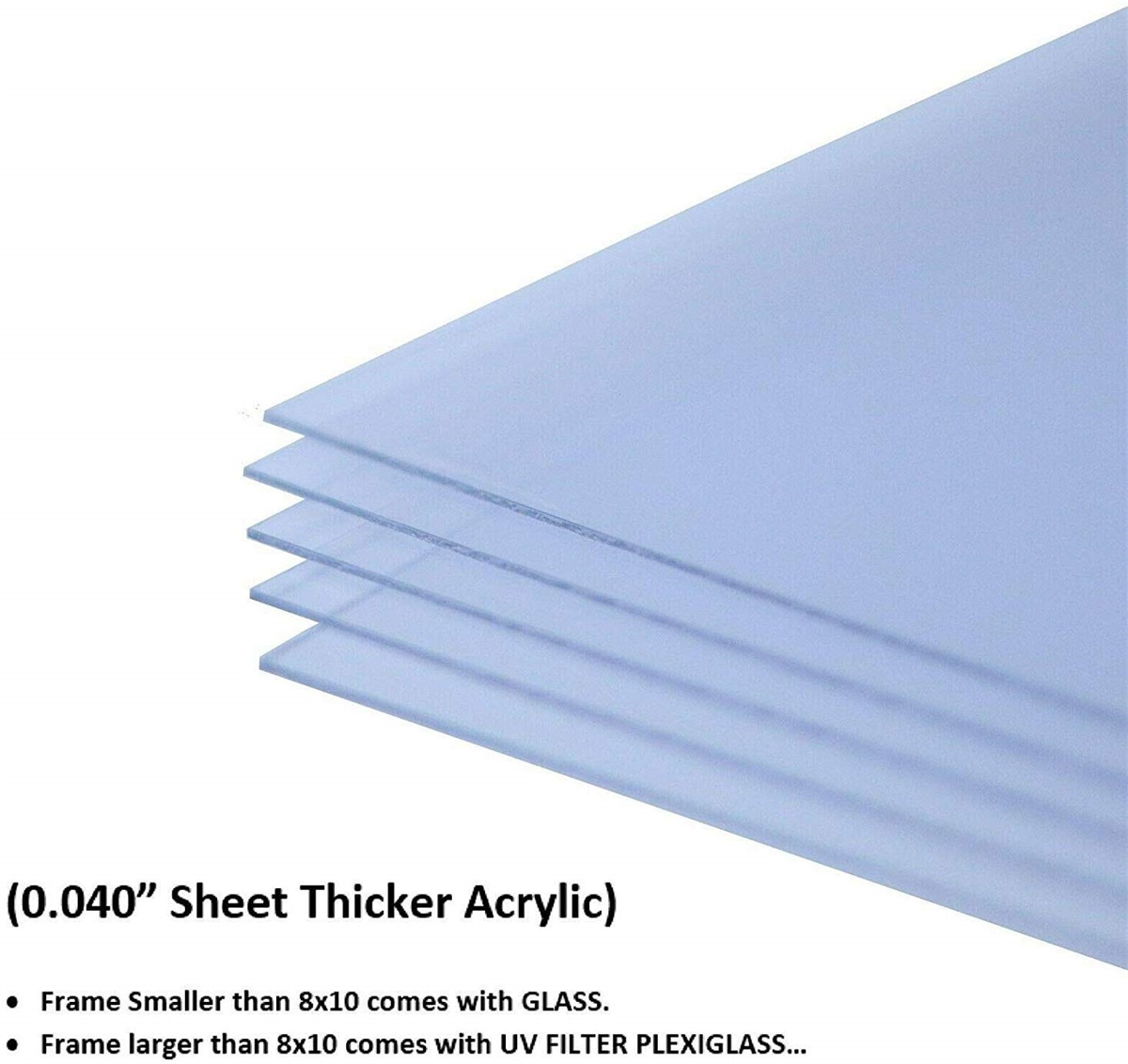 Acrylic Sheet for Picture Frame Poster Frame  040