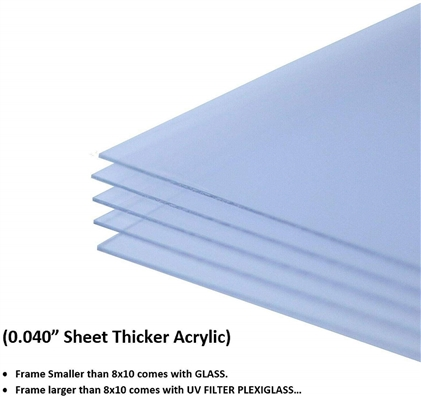Acrylic Sheet for Picture Frame Poster Frame .040""