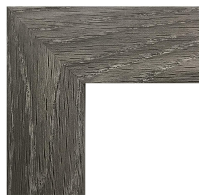 Rustic Grey, MDF Wood Composite - Flat Moulding (1.25 Inch)