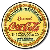 COKE - Round Keg Label