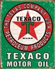 Texaco Oil Weathered