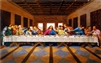 Jesus Christ The Last Supper Religious,  20x32 Black Art Print Poster African-American