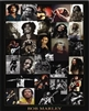 Bob Marley,  Collage 24x36 Black Art Print Music Poster African-American