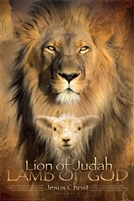 24x36 Lion Of Judah, Unframed Black Art Print Poster African-American