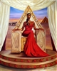 Delta Queen By WAK Kevin A. Williams  24x30  Black Art Print Poster African-American
