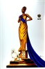 Elegance Sigma Gamma Rho By WAK Kevin A. Williams  24x36  Black Art Print Poster African-American