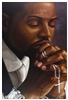 His Time Well Spent by Henry Battle  24x36  Black Art Print Poster African-American