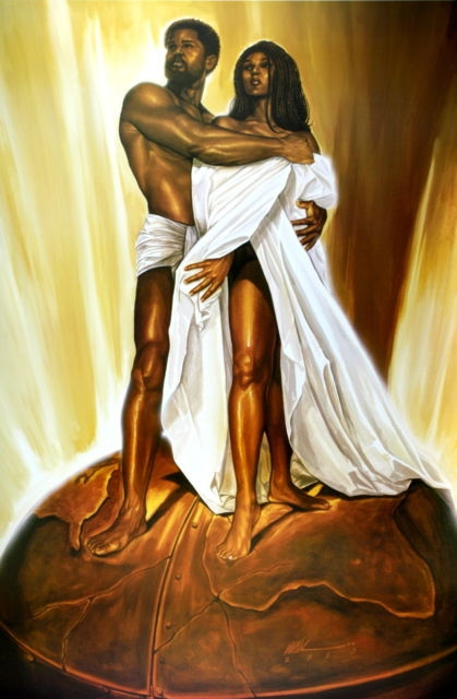 16223cad286 Power Of Love By WAK Kevin A. Williams 24x36 Black Art Print Poster ...