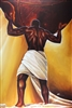 Power Of Man By WAK Kevin A. Williams  24x36  Black Art Print Poster African-American