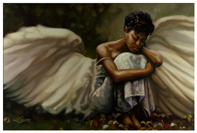 This Too Shall Pass By Henry Battle 24x36 Black Art Print