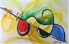 Flavor of music Artist Gerald Ivy  24x36 Abstract Art Print Poster African-american