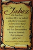 Prayer of Jabez  24x36  Art Print Poster African-american