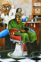 Cuttin' UP Artist Tracy Andrews 24x36 Art Print Poster African-american