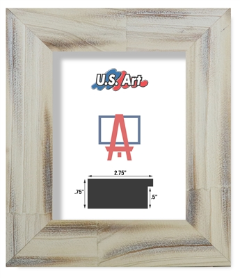 Country Distressed Oak - Solid Wood Frame (2.75 Inch)