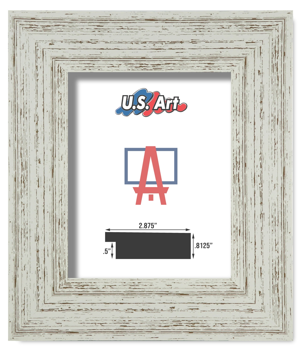 Withered White Frame (2.875 Inch) [CA 2542]