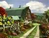 8x10 Inch Farm Fine Art Print Interior Decor in Cottages #X60-810-H