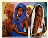 8x10 Inch Flower of Africa African American Black Art Print in Ladies Modeling #X78-810-N