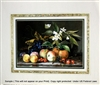 8x10 Inch Fruit Blossoms Fine Art Print and Poster in Fruit Arrangement #x15-810-J