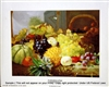 8x10 Inch An Abundance Of Fruit Fine Art Print and Poster in Fruit Arrangement #x15-810-K