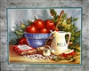 8x10 Inch Apples Fine Art Print and Poster in Fruit Arrangement #x15-810-L