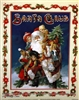 8x10 Inch Santa Claus Fine Art Print Home Decor in Bathroom #x20-810-J